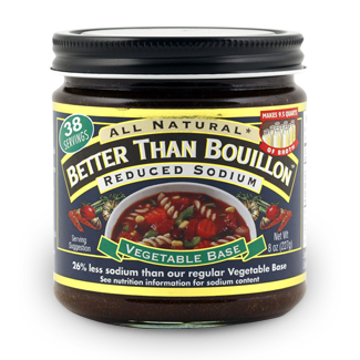 Seasoned Vegetable Base (Reduced Sodium)