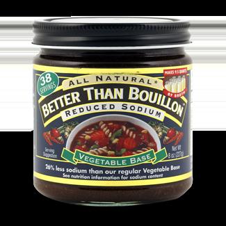 Seasoned Vegetable Base (Reduced Sodium)