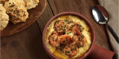 Brazilian Shrimp and Grits recipe