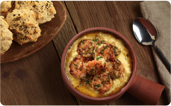 Brazilian Shrimp and Grits