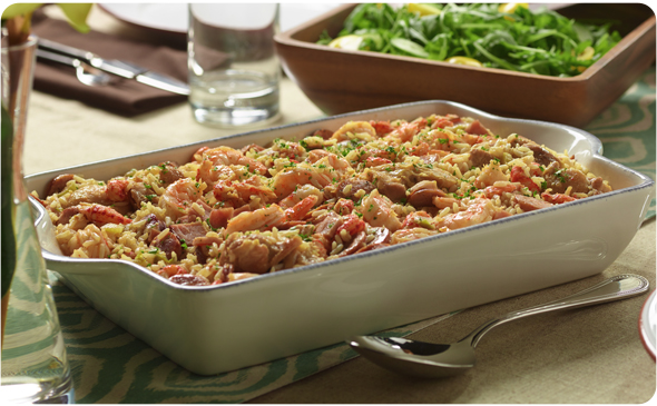 Chicken and Seafood Jambalaya