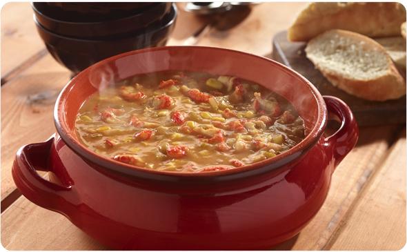 Crawfish and Corn Soup