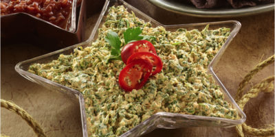Easy Cream Cheese Spinach Dip recipe