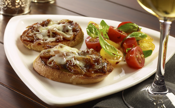 French Onion Bruschetta