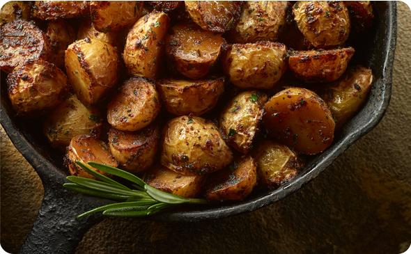Grilled Baby Yukon Potatoes