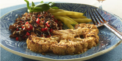 Grilled Cauliflower Steaks recipe