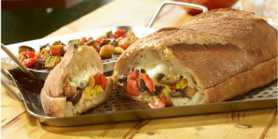 Grilled Muffuletta recipe