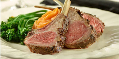 Grilled Rack of Lamb recipe