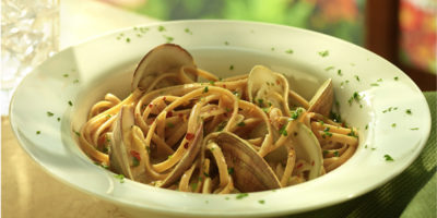 Linguini with Clam Sauce recipe