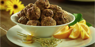 Meatballs With Lemon Zest recipe
