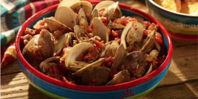 Mexican Steamed Clams recipe