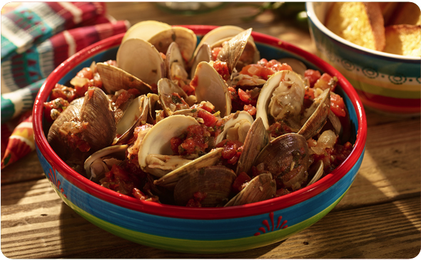 Mexican Steamed Clams