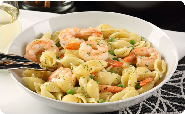 Shells and shrimp with garlic wine lobster sauce better than bouillon shells and shrimp with garlic wine lobster sauce forumfinder Images