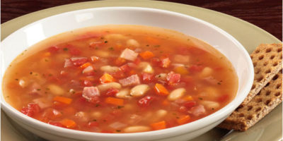 Shortcut Ham and Cannellini Bean Soup recipe