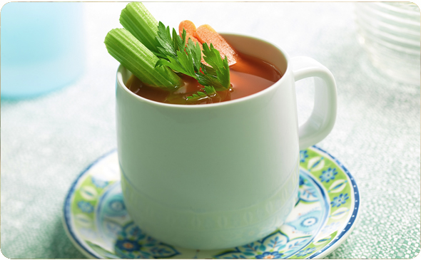 Sweet Carrot and Parsley Savory Sipping Broth
