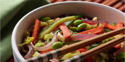 Sweet Gingered Vegetable Stir-Fry recipe