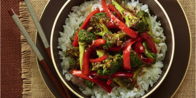 Vegetarian Broccoli Stir-Fry recipe
