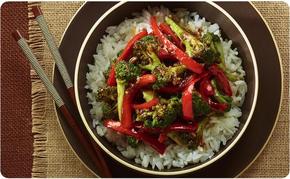 Vegetarian Broccoli Stir-Fry