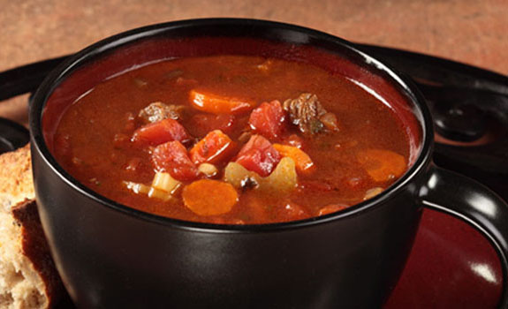 Zesty Beef Barley Soup
