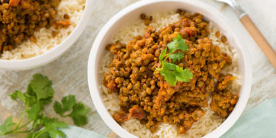 Creamy Coconut Lentil Curry recipe