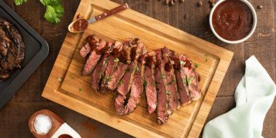 Rib Eye Steak with Coffee and Chipotle Rub recipe