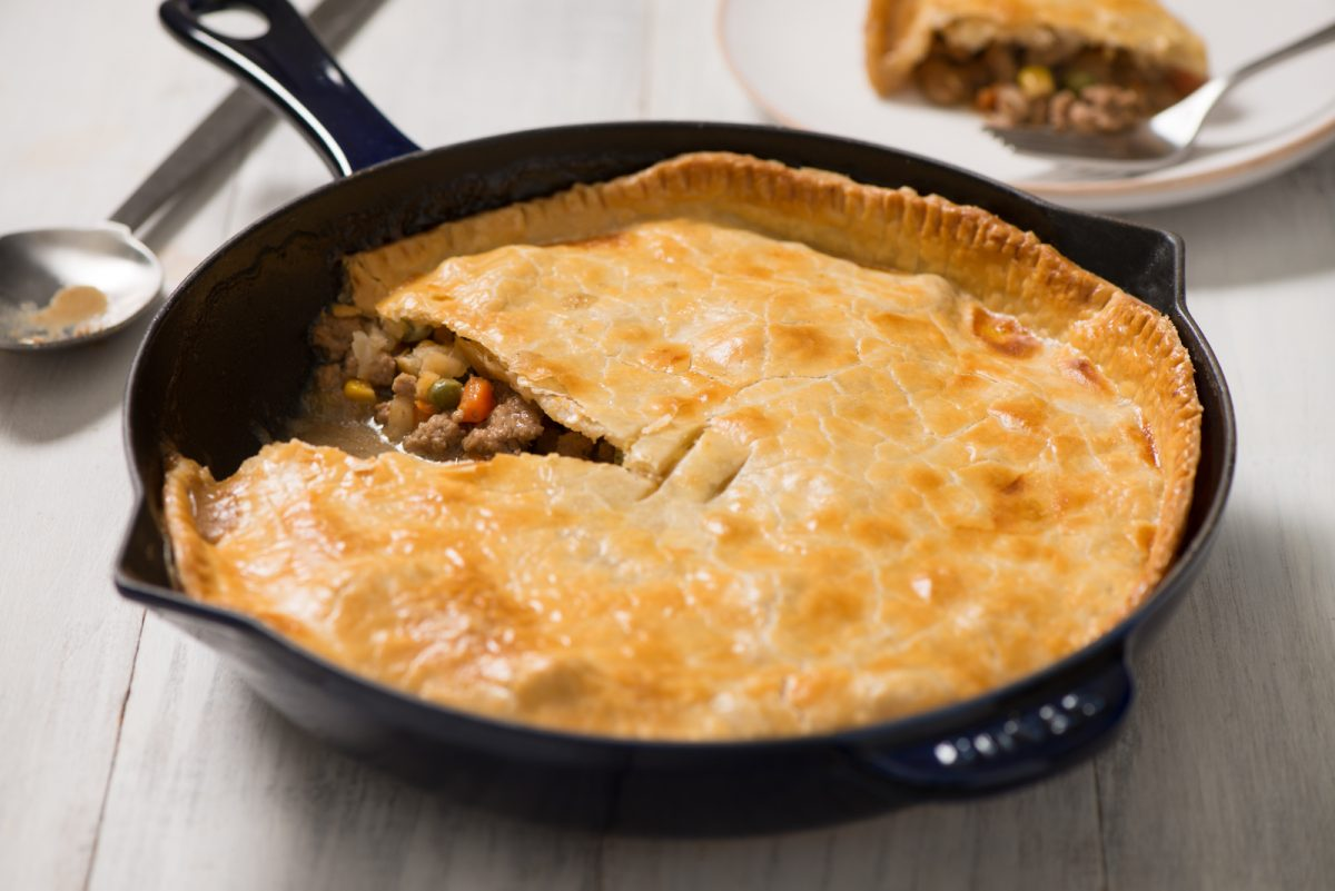Easy Turkey Skillet Meat Pie