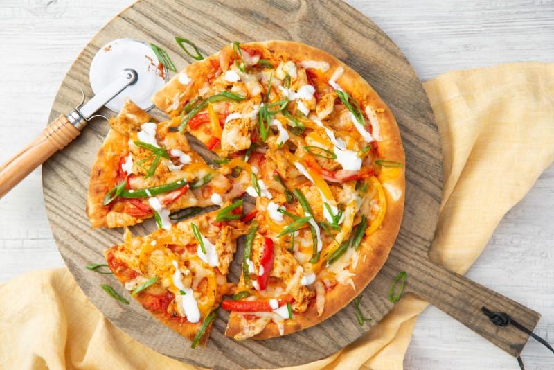 Fajita Chicken Pizza