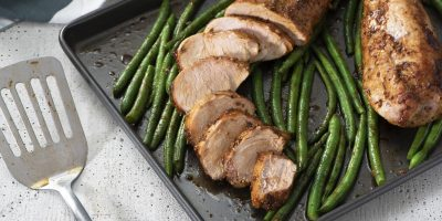 Herb-Crusted Pork Tenderloin recipe