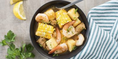 Instant Pot Cajun Shrimp Boil recipe