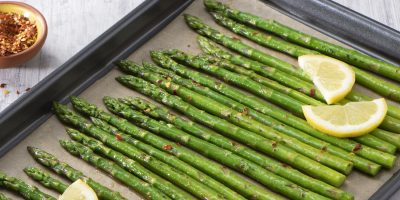 Roasted Lemon Garlic Asparagus recipe