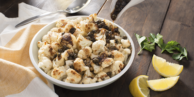 Cauliflower with Brown Butter and Capers recipe