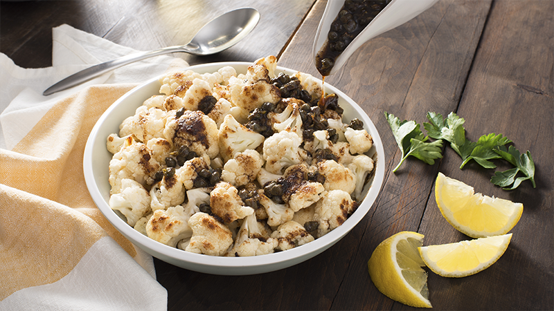 Cauliflower with Brown Butter and Capers