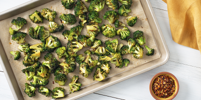 Roasted Garlic Broccoli recipe
