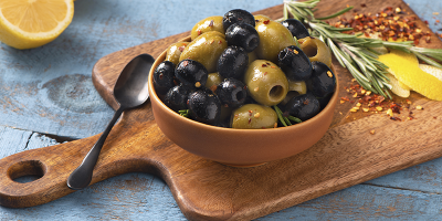 Warm Sautéed Olives recipe