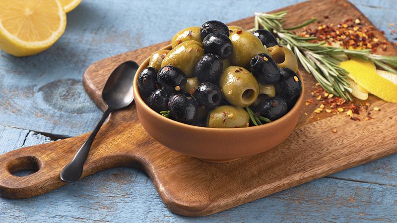 Warm Sautéed Olives