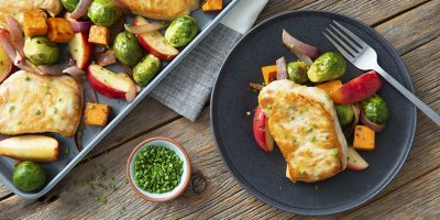 Sheet Pan Pork Chops and Apples recipe