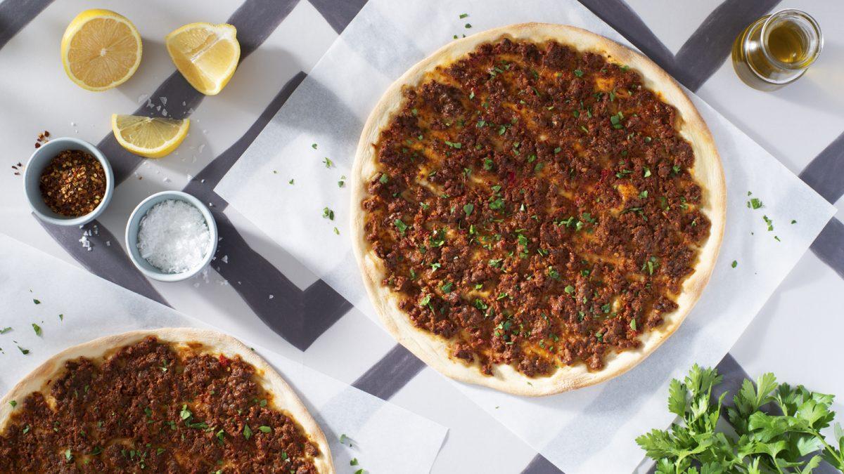 Lahmacun (Turkish Pizza)