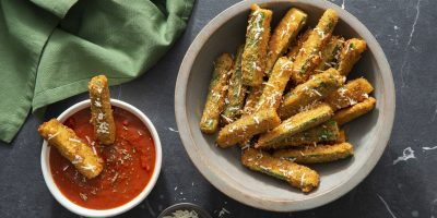 Parmesan Zucchini Fries recipe