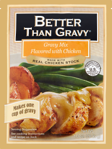 Gravy Mix Flavored with Chicken