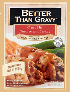 Gravy Mix Flavored with Turkey