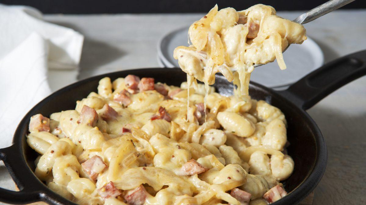 Cheesy Gnocchi Casserole