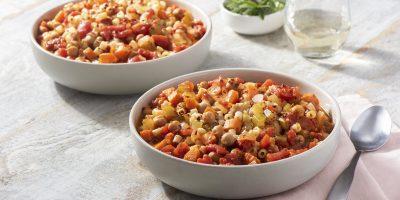 Pasta e Fagioli with Chickpeas recipe