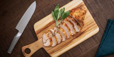 Buttermilk-Marinated Roast Turkey Breast recipe
