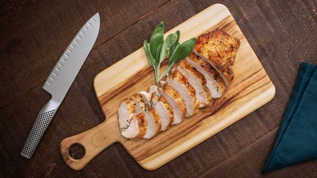 Buttermilk-Marinated Roast Turkey Breast
