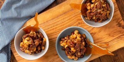 Caramelized Onion Nuts recipe