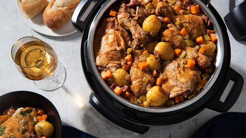 Easy Instant Pot Chicken Dinner