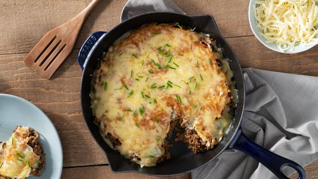 French Onion Skillet Casserole
