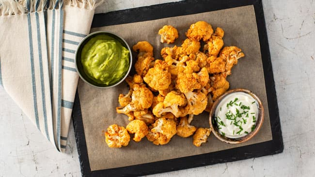 Mexican-Style Baked Cauliflower Bites