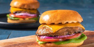 Grilled Portobello Burgers recipe