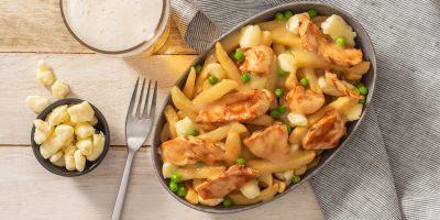Smoky BBQ Chicken Poutine recipe